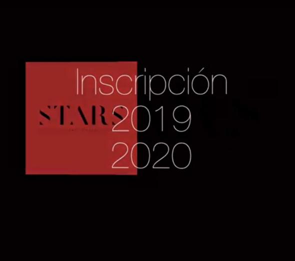 Inscripción 2019-2020